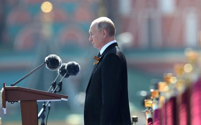 Putin se somete a pruebas de coronavirus cada tres o cuatro días - Vladimir Putin, presidente de Rusia. Foto de EFE