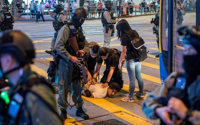 Enfrentamientos durante aniversario de protestas en Hong Kong - protestas Hong Kong