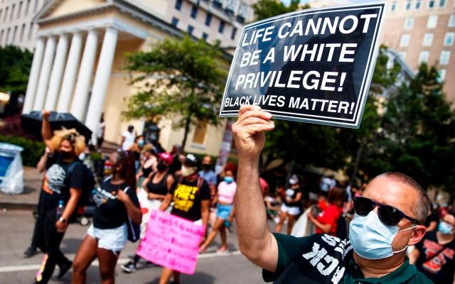 Miles se congregan en Washington DC para marchar contra el racismo - protestas racismo eeuu