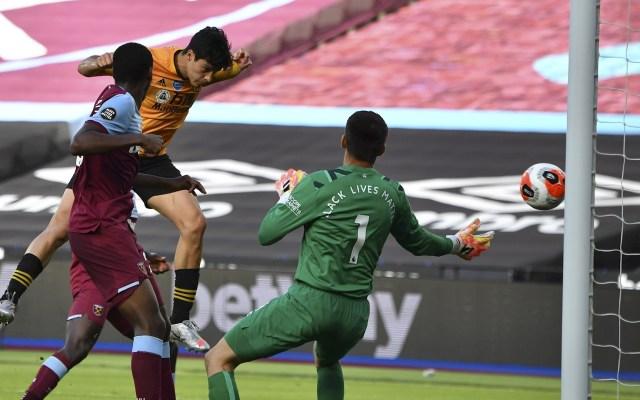 Raúl Jiménez supera a 'Chicharito' y se convierte en el máximo goleador mexicano en la Premier League - Raúl Jiménez Wolverhampton West Ham United