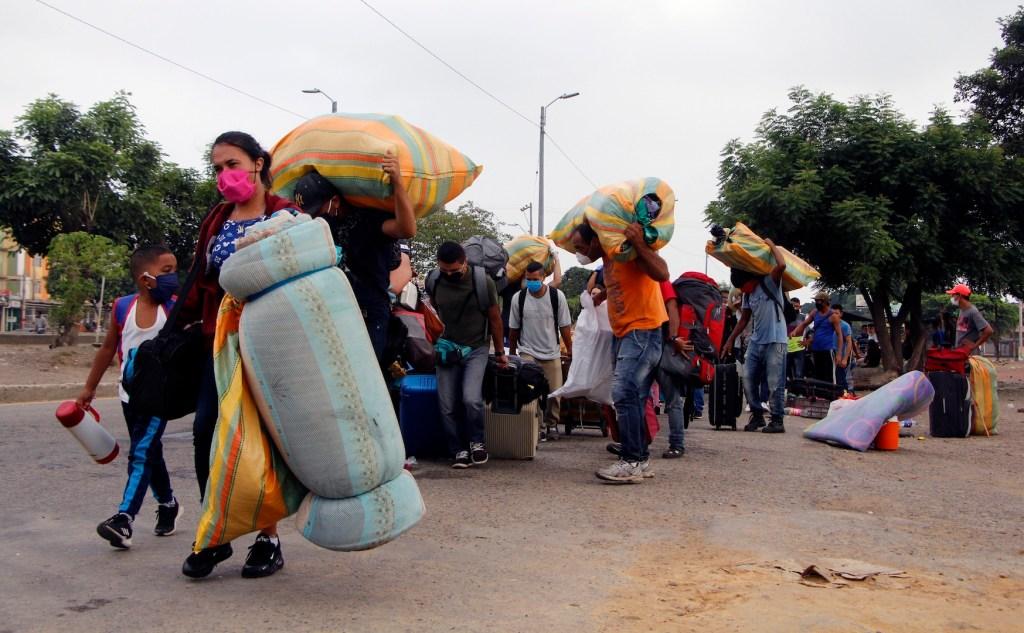 ONU exige a gobiernos ayudar a refugiados y migrantes ante pandemia de COVID-19 - Foto de EFE