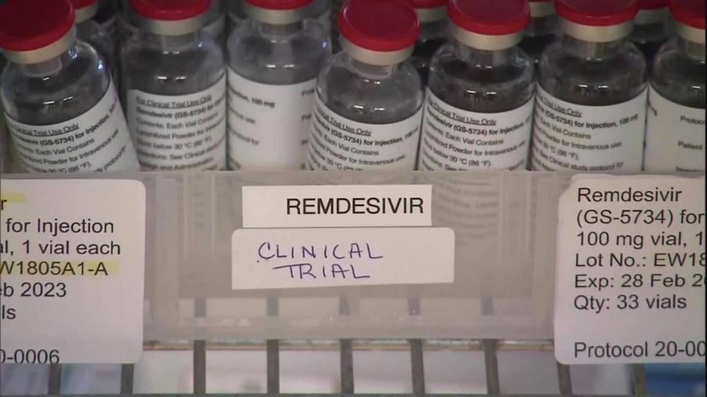 Discovery deja de estudiar el remdesivir contra COVID-19 por falta de eficacia - Remdesivir. Foto de CNN