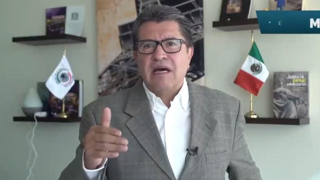 #Video Ricardo Monreal aplaza iniciativa para fusionar IFT, Cofece y CRE - Ricardo Monreal. Captura de pantalla