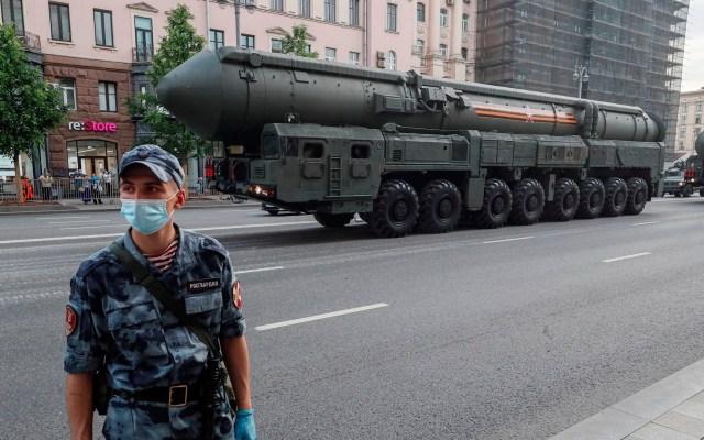 Rusia y Estados Unidos negociarán posible extensión de tratado de desarme nuclear - Rusia desarme nuclear