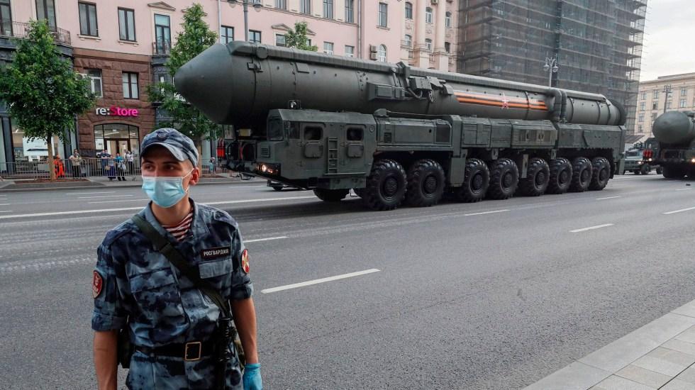 """EE.UU. llega a """"principio de acuerdo"""" con Rusia para salvar acuerdo nuclear - Rusia desarme nuclear"""