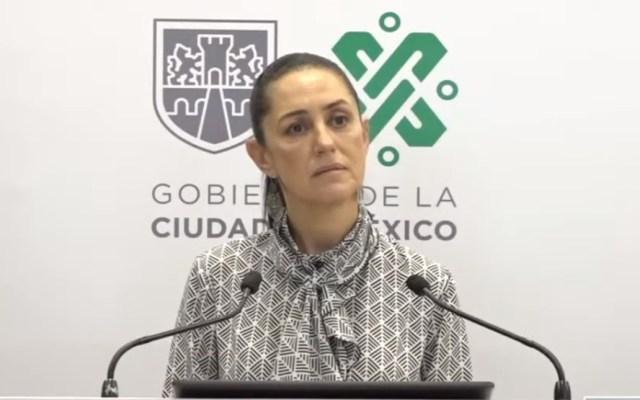 Sheinbaum niega que protestas de Guadalajara se organizaran desde la CDMX - Claudia Sheinbaum, jefa de Gobierno de la Ciudad de México. Captura de pantalla