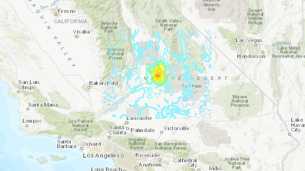 Sismo de magnitud 5.5 sacude el sur de California| Telemundo