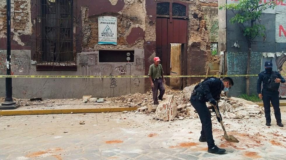 Sismo magnitud 7.5 con epicentro en costas de Oaxaca deja saldo de dos muertos y cinco heridos - Foto de EFE