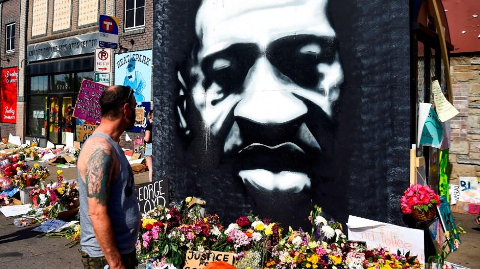 Hermano de George Floyd pide continuar lucha contra violencia racial en EE.UU. - Foto de EFE