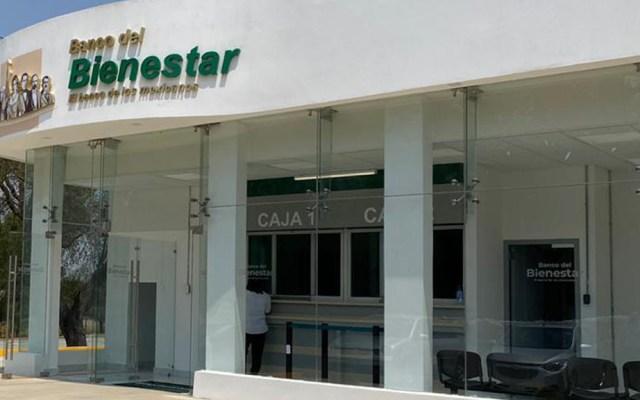 Roban tres millones de pesos de Banco del Bienestar en Hidalgo - Sucursal del Banco del Bienestar. Foto de @bancobienestar
