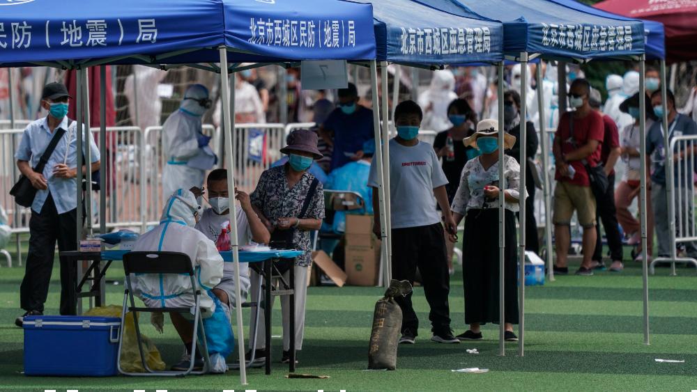 Tras brote de COVID-19, Beijing desinfectará mercados, restaurantes y universidades - Foto de EFE