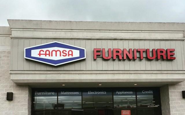 Famsa solicita protección por bancarrota en Estados Unidos - Tienda Famsa en Estados Unidos. Foto de @famsa_furniture