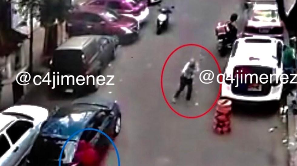 #Video Balacera en la colonia Anáhuac deja un muerto - Tiroteo en la colonia Anáhuac