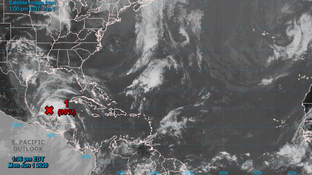 Comienza temporada de huracanes en el Atlántico con 'Cristóbal' en el umbral