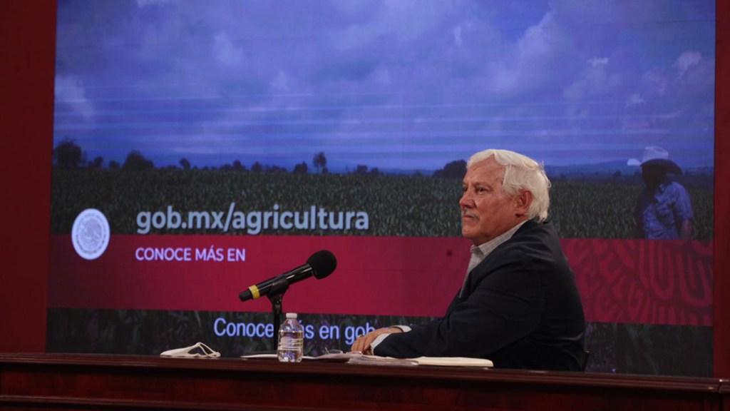 """Sader, """"perfectamente preparada"""" para entrada en vigor del T-MEC - Víctor Villalobos, secretario de Agricultura y Desarrollo Rural. Foto de @vmva1950"""