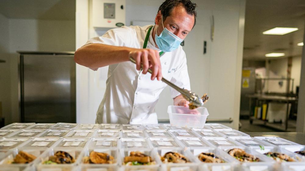 Wimbledon abre sus cocinas para los más necesitados - Foto de @Wimbledon