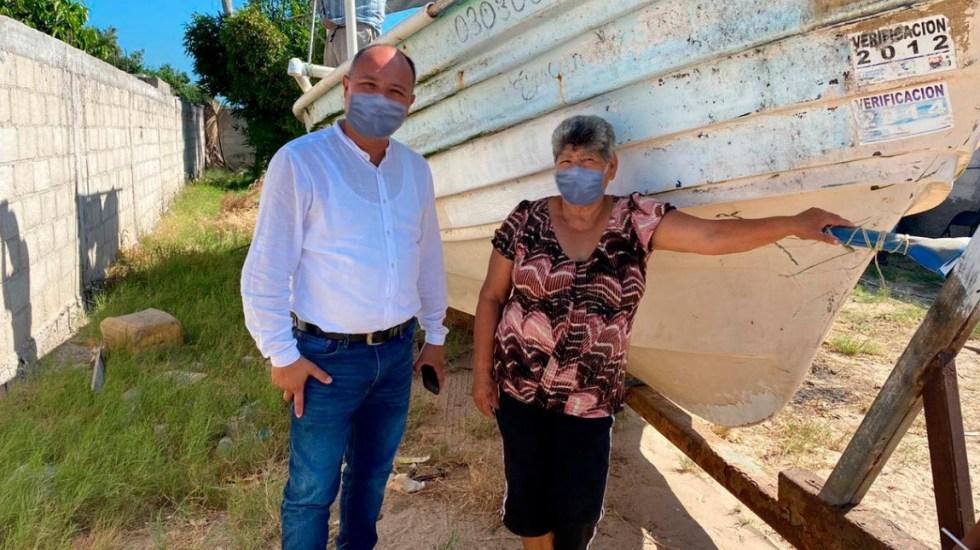 #Viral Alcalde de Comondú edita fotos para que aparezca con cubrebocas - Alcalde cubrebocas virtual Walter Valenzuela Acosta Comondú