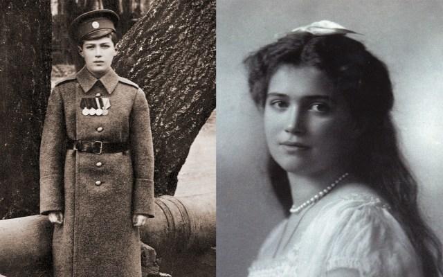 Peritajes confirman autenticidad de restos de hijos del último zar de Rusia - Alexéi y María Romanov, hijos del último zar de Rusia, Nicolás II. Foto de Royal Collection Trust y Flickr