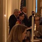 Donald Trump ofrece cena a López Obrador