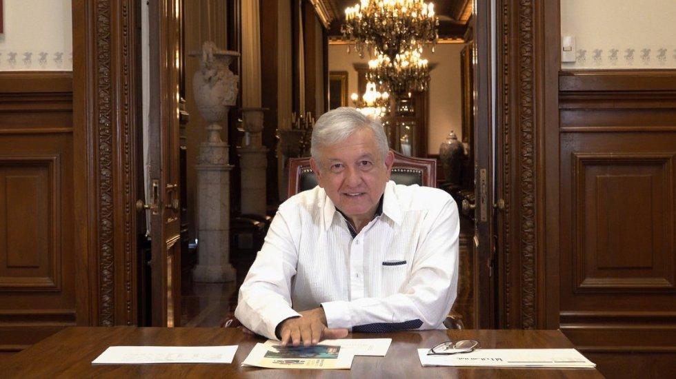 La pandemia de COVID-19 está a la baja, está perdiendo intensidad, asegura López Obrador - Andrés Manuel López Obrador. Foto de @lopezobrador_