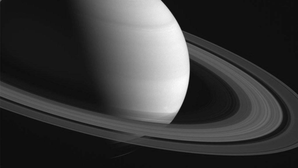 Anillos de Saturno serán visibles la noche de este lunes - Anillos de Saturno. Foto de NASA