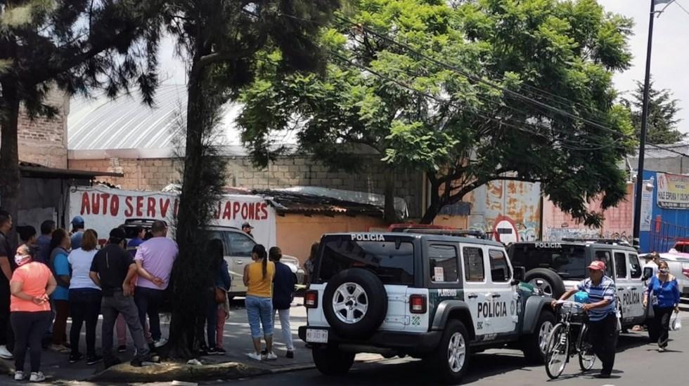 Balacera en Álvaro Obregón deja dos muertos - Foto de Jorge Becerril