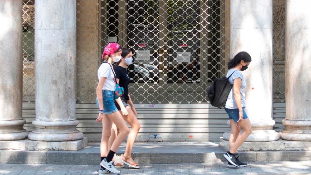 Cataluña cierra bares y restaurantes ante el fuerte incremento del COVID-19 - Foto de EFE
