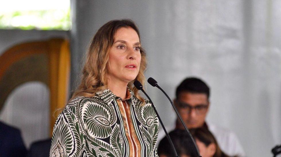 """""""No soy médico"""", responde Gutiérrez Müller a tuitero que la cuestionó sobre niños con cáncer - Beatriz Gutiérrez Müller. Foto de Notimex."""