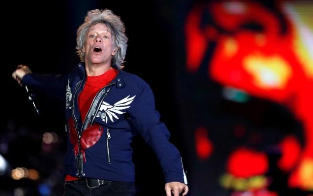 Bon Jovi denuncia la muerte de George Floyd en su nuevo sencillo - Bon Jovi en concierto en Brasil. Foto de EFE / Archivo
