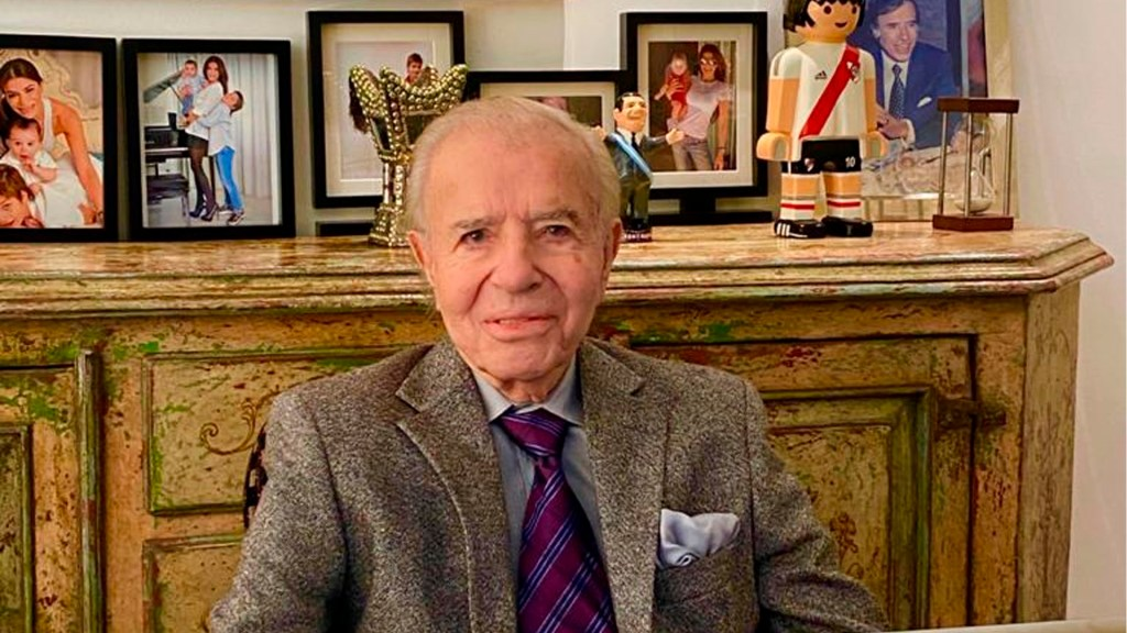 Carlos Menem cumple 90 años mientras se recupera en hospital - Carlos Menem