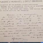 Análisis de la firma del presidente López Obrador