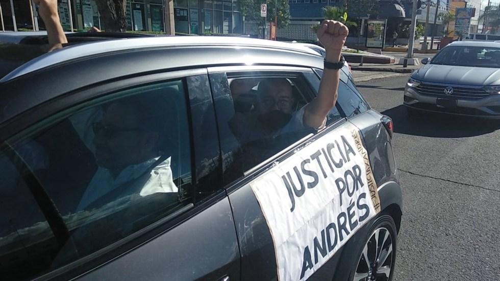 #Video Protestan en Celaya por asesinato de joven empresario - Foto de @PlatinoNews_