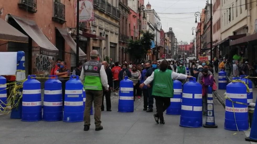 Próxima semana será determinante para definir situación de la Ciudad de México por COVID-19 - Foto de Autoridad del Centro Histórico
