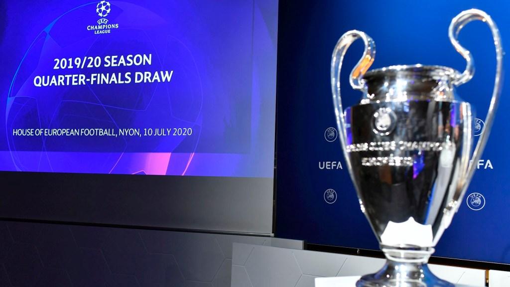 Listas las fechas y horarios de fase final de la Champions League - Champions cuartos 2020 coronavirus COVID-19