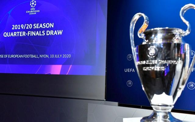 Atalanta y PSG abrirán los Cuartos de Final de la Champions League - Champions cuartos 2020 coronavirus COVID-19
