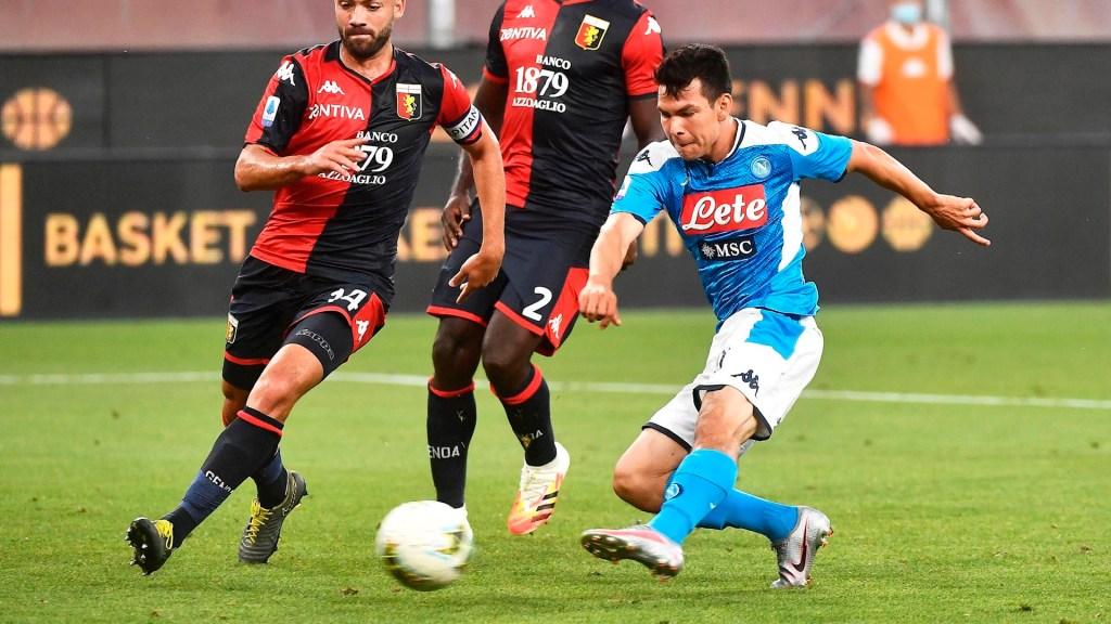 #Video 'Chucky' Lozano anota el gol de la victoria frente al Genoa - chucky Lozano gol