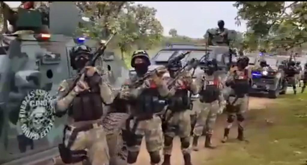 "Gobernador de Texas urge designar a cárteles mexicanos como ""terroristas"" - CJNG miembros fuerzas de élite Jalisco cárteles"