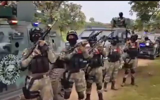 """Durazo responde a video del CJNG, """"no hay grupo criminal que pueda enfrentar a las fuerzas federales"""" - CJNG miembros fuerzas de élite Jalisco"""