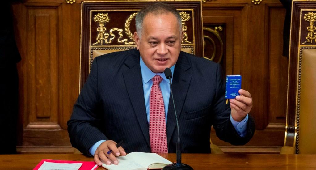 Diosdado Cabello, presidente de la ANC de Venezuela, da positivo a COVID-19 - Diosdado Cabello, jefe de la Asamblea Nacional Constituyente (ANC) de Venezuela