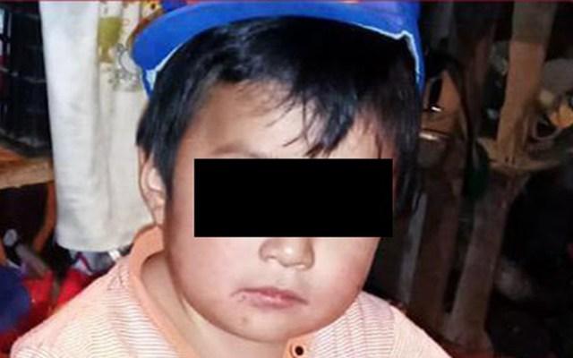Autoridades localizan a menores implicados en desaparición de niño Dylan - Dylan Esaú, menor desaparecido en Chiapas. Foto de FGE Chiapas