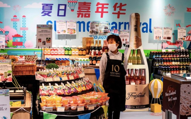 Pese a pandemia de COVID-19, economía de China crece entre abril y junio - Foto de EFE