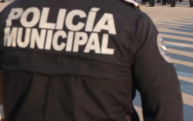 Asesinan a policía afuera de su casa en Ciudad Juárez - Elemento de la Policía Municipal de Ciudad Juárez. Foto de @GobiernoCdJuarez