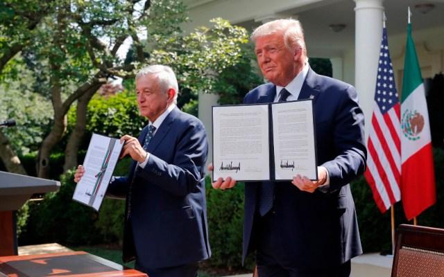 AMLO y Trump resaltan relación bilateral y respeto mutuo entre EE.UU. y México - Foto de EFE