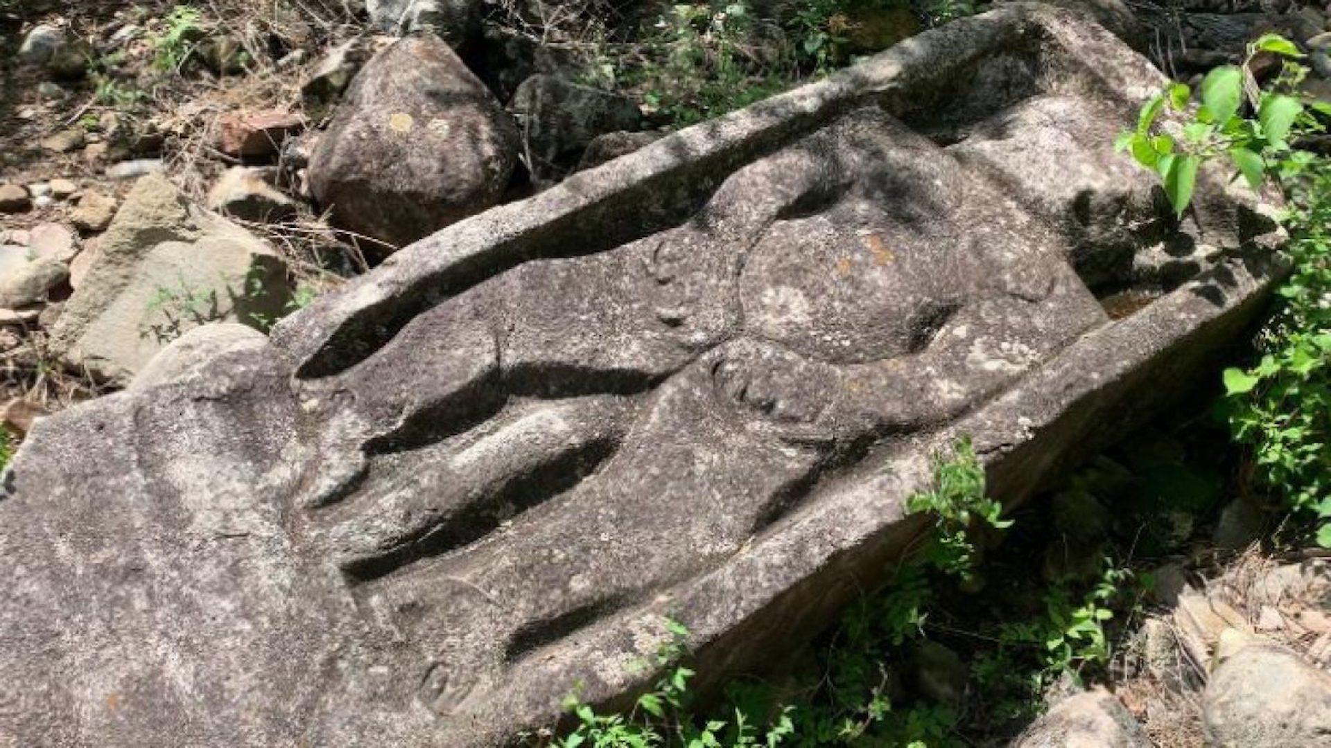 En el cerro de la Peña encontraron un altar al dios del inframundo.