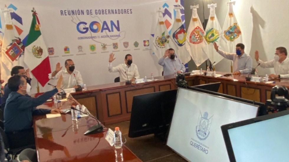 """Gobernadores de Acción Nacional querían trato """"específico"""", afirma López-Gatell - Foto de GOAN"""