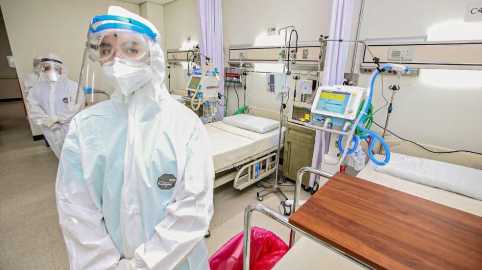 Muertes por COVID-19 en Guerrero a la baja en julio, destaca Héctor Astudillo - En la foto, un hospital en Guerrero destinado a atender COVID-19. Foto de @HectorAstudillo