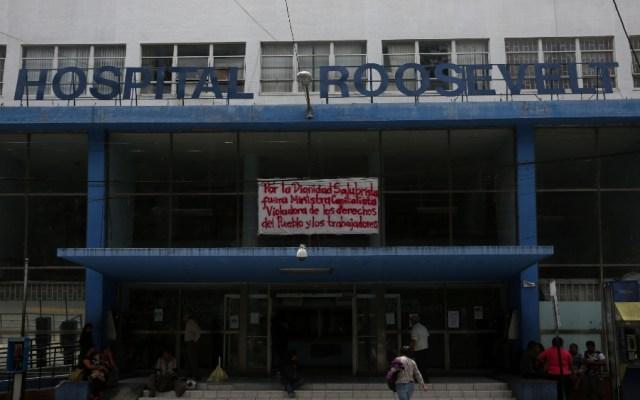 Muere por COVID-19 exministro de Salud guatemalteco acusado de corrupción - Vista de la fachada del Hospital Roosevelt en Ciudad de Guatemala. Foto de EFE