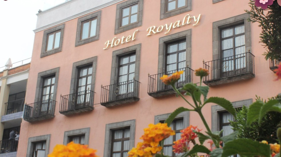 Cierran el Hotel Royalty en el centro de Puebla - Hotel Royalty de Puebla. Foto de Facebook