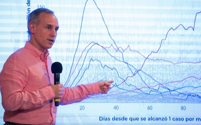 No hay certeza que COVID-19 genera inmunidad: López-Gatell - Hugo López-Gatell, subsecretario de Salud. Foto de EFE/ Presidencia de México.
