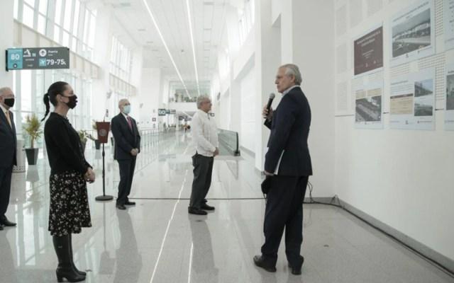 Inauguran extensión de la Terminal 2 del AICM - Inauguración del Dedo L del AICM. Foto de SCT